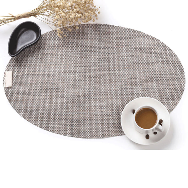 Oval Weave Look Placemats