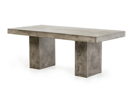 Rebarn Modern Industrial Concrete Dining Table