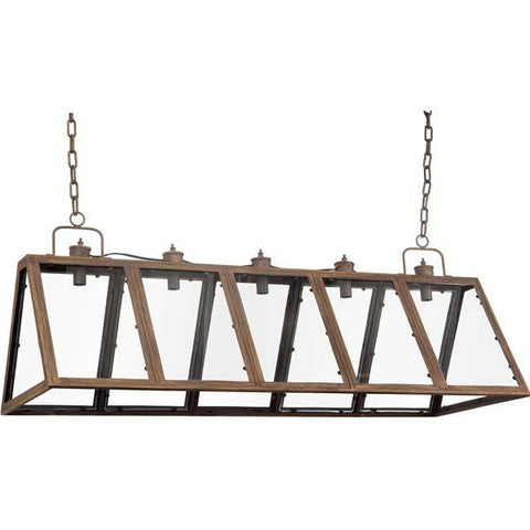 lighting - Autumn Elle Designs Trenton Chandelier/lighting 90347 - Rustic Edge - 1
