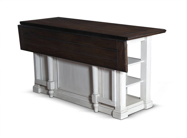Sunny Designs 1016fc Bourbon County Kitchen Island With