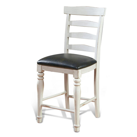"Sunny Designs 1432FC-24C 43"" Bourbon County Ladderback stool"