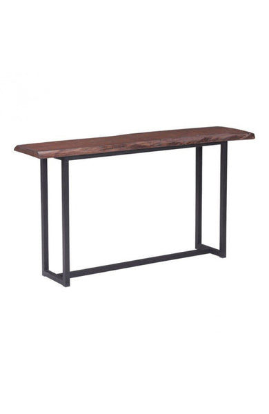 Grayson Console Table Distressed Cherry Oak