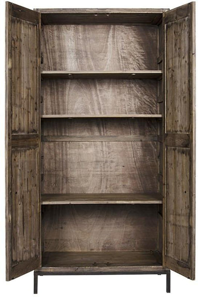 Donough Hutch, Old Wood - Intrustic home decor