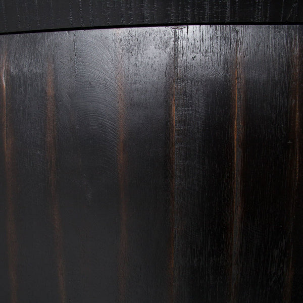 Alvere Sideboard - Burnished Black - Rustic Edge
