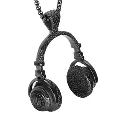 Beats Headphones Chain Necklace