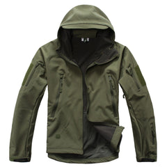 Men's Waterproof Hooded Softshell Jacket