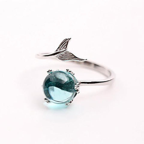 Mermaid Adjustable Ring