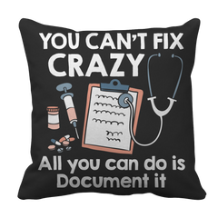 You Can't Fix Crazy - All You Can Do Is Document It