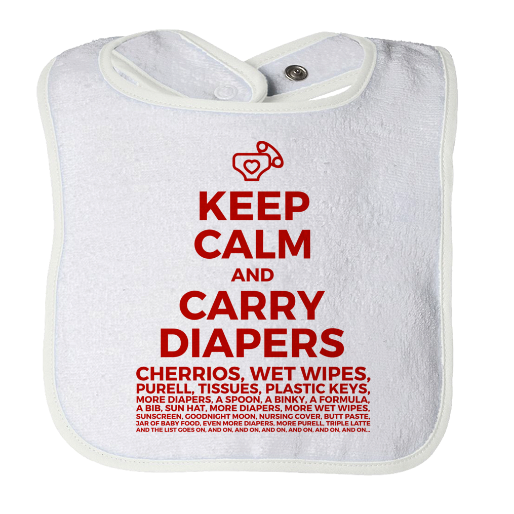 Keep Calm and Carry Diapers