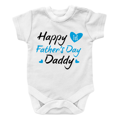 Happy 1st Father's Day Daddy - Boy