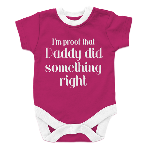 I'm Proof That Daddy Did Something Right - Girl