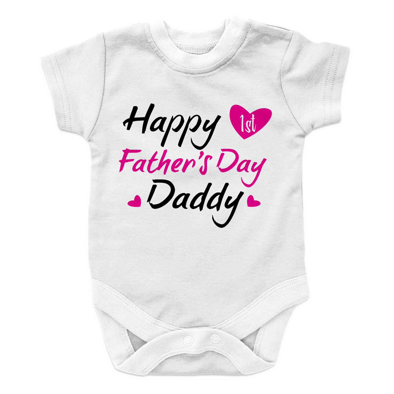 Happy 1st Father's Day Daddy - Girl