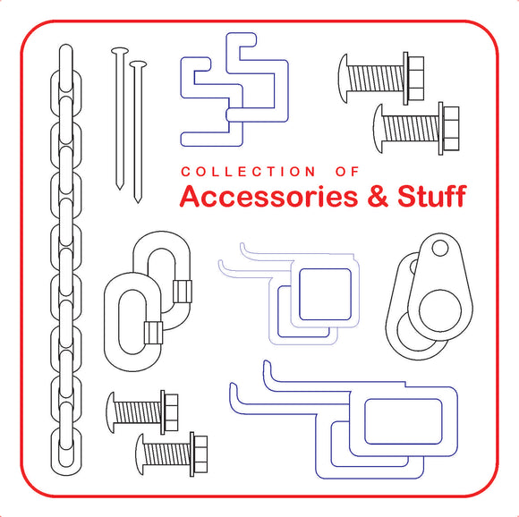 Fasteners, clips, hardware, etc...