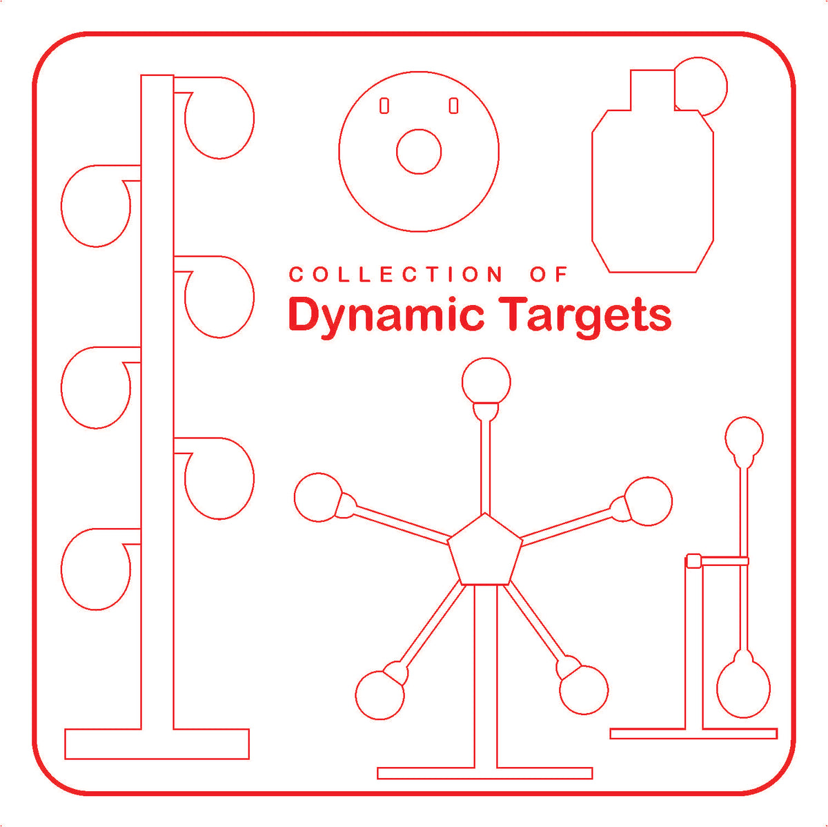 Targets that move in interesting ways