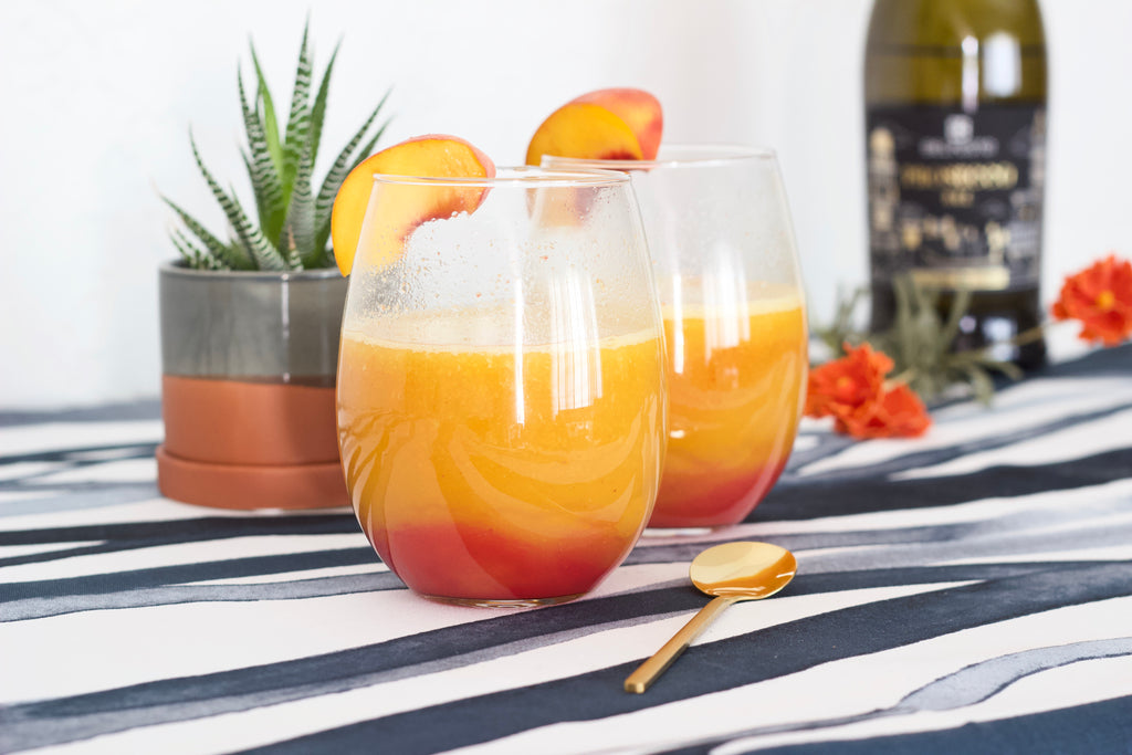 3 Refreshing Summer Peach Rooibos Tea Cocktails