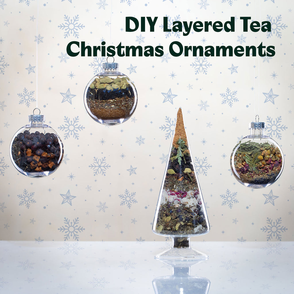 DIY Layered Tea Ornaments