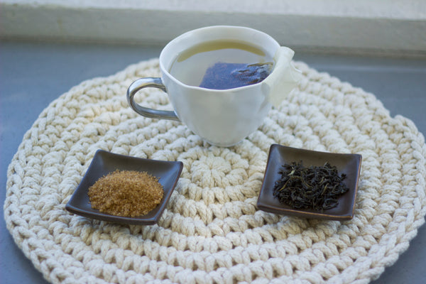 high quality tea bags with craft sweetener