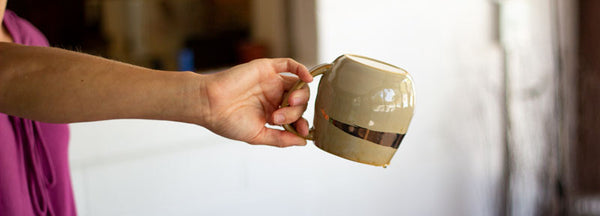 preheat your tea cup - pour it out