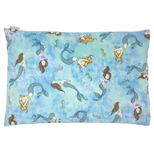 Child Pillow - Mermaid Squad - Blue