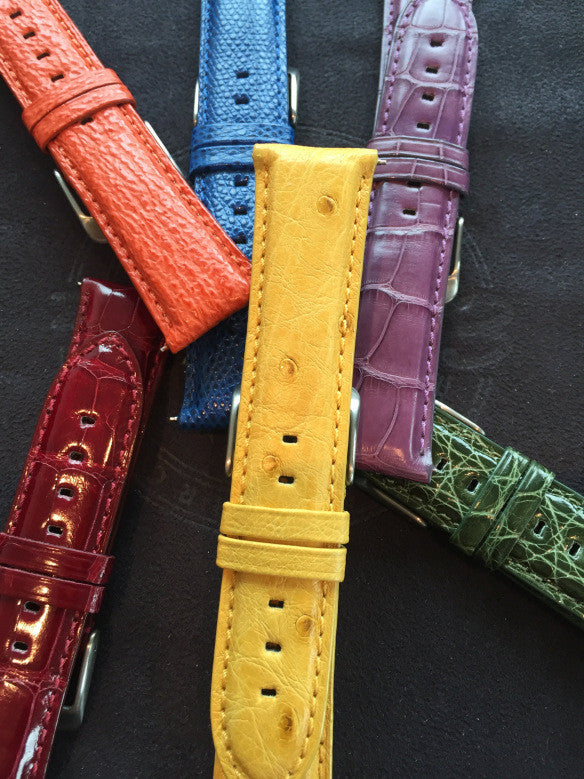 The Pros and Cons of Leather Vs. Rubber Vs. Fabric Straps