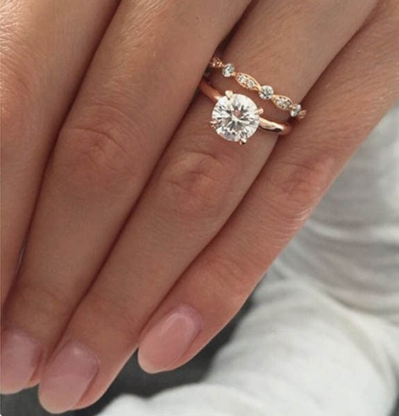 World's Most Popular Engagement Ring Boasts 103,900 Saves on Pinterest