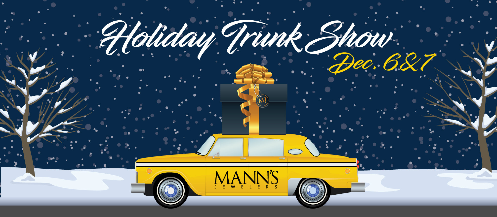 Holiday Trunk Show Event December 6th and 7th