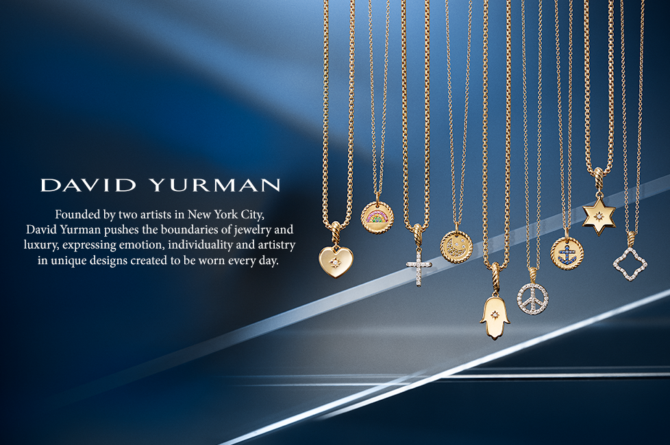 David Yurman is available at Mann's Jewelers in Rochester, New Yorl