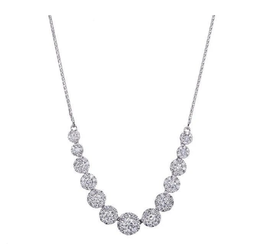 Diamond Necklace at Mann's Jewelers