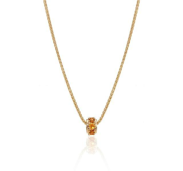 Mother's Rondelles Collection Citrine Rondelle