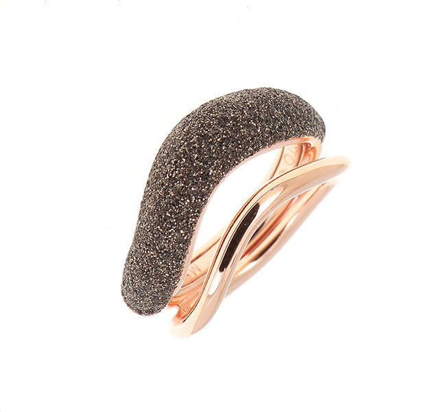 2-Tone Wave Ring