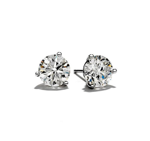 5/8 Carat Diamond Stud Earrings