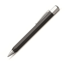 Ondoro Black Resin Ballpoint Pen