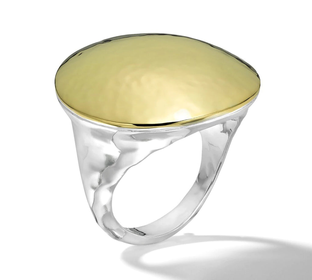 Chimera Dome Ring in Yellow Gold