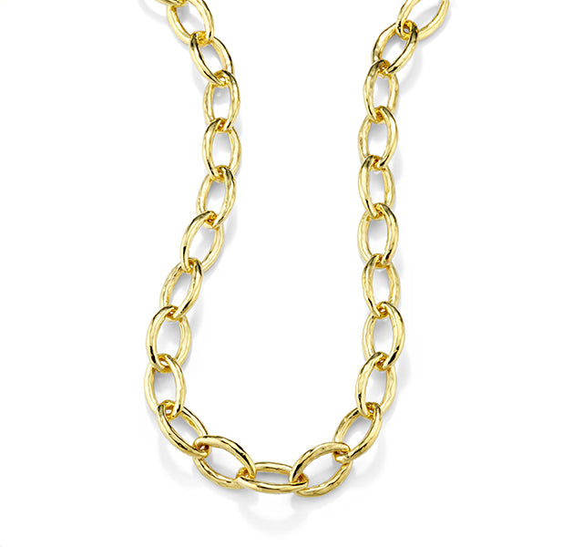 Bastille Necklace in Yellow Gold