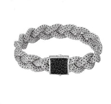 Classic Chain Medium Braided Bracelet