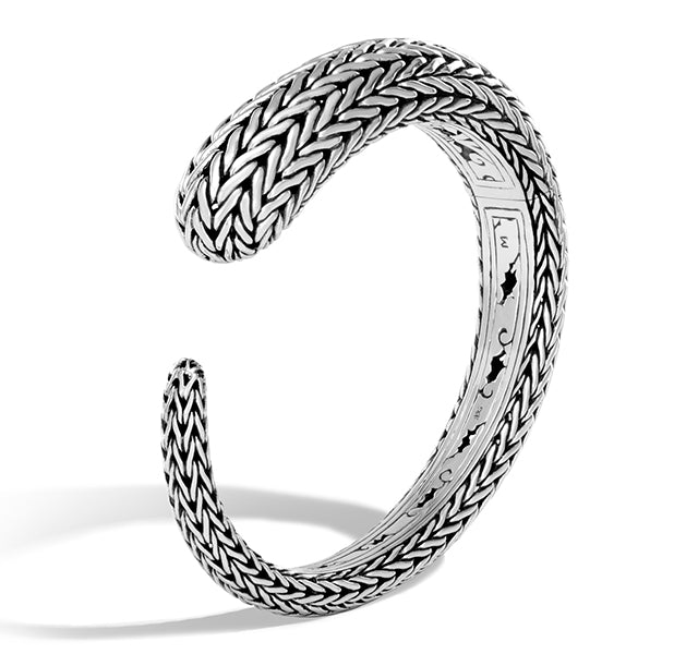 Classic Chain Kick Cuff in Sterling Silver