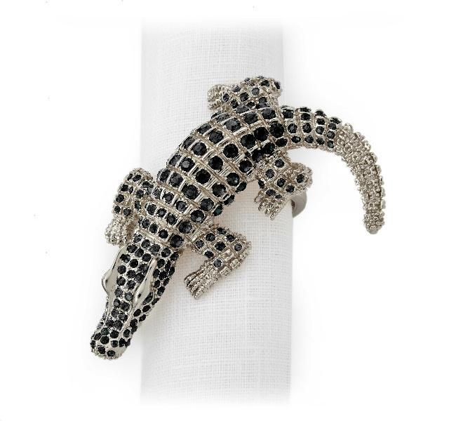 Crocodile Napkin Rings Set of 4
