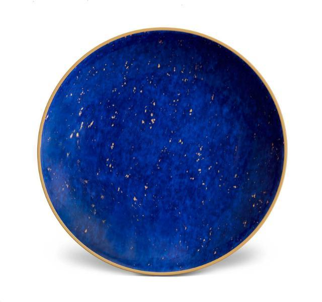 Lapis Canape Plates. Set of Four.