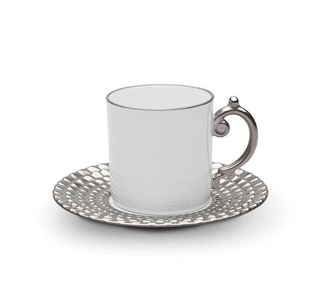 Aegean Platinum Cup and Saucer