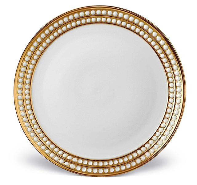Perlée Gold Dinner Plate