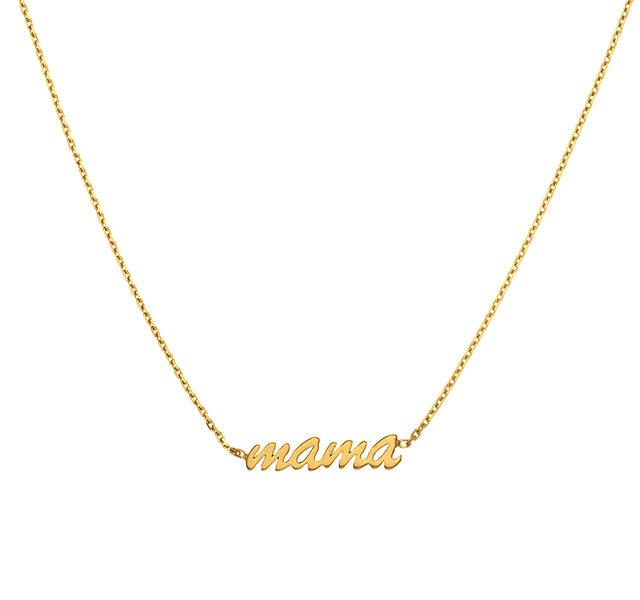 MAMA Cable Chain Choker Necklace