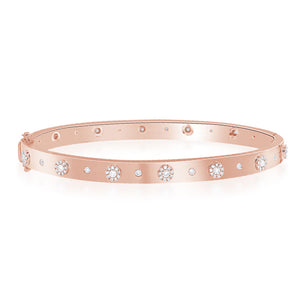 Diamond Cuff In Rose Gold