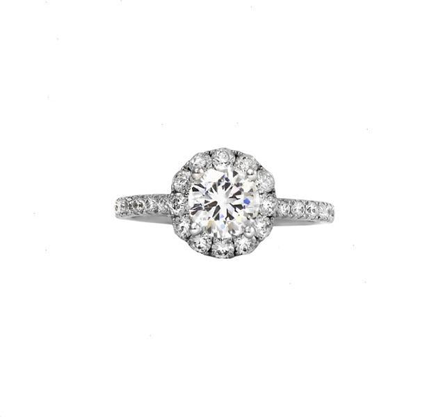 Diamond Engagement Ring Setting with Halo