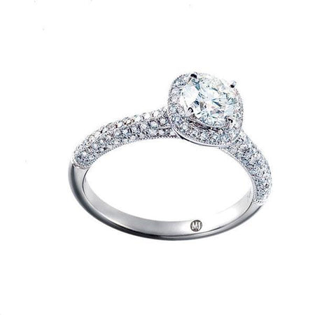 Collection Halo Engagement Ring Setting