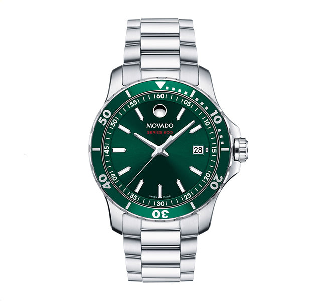 Series 800 40mm with Green Printed Index Dial
