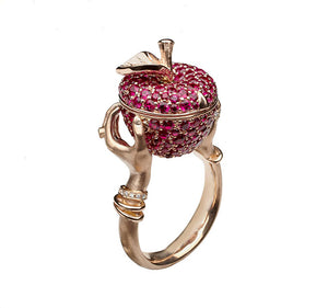 Murder She Wrote Poison Apple Ring