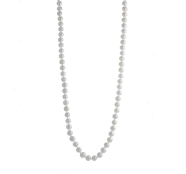 Cultured Pearl Necklace 6-6.5mm 18 inches