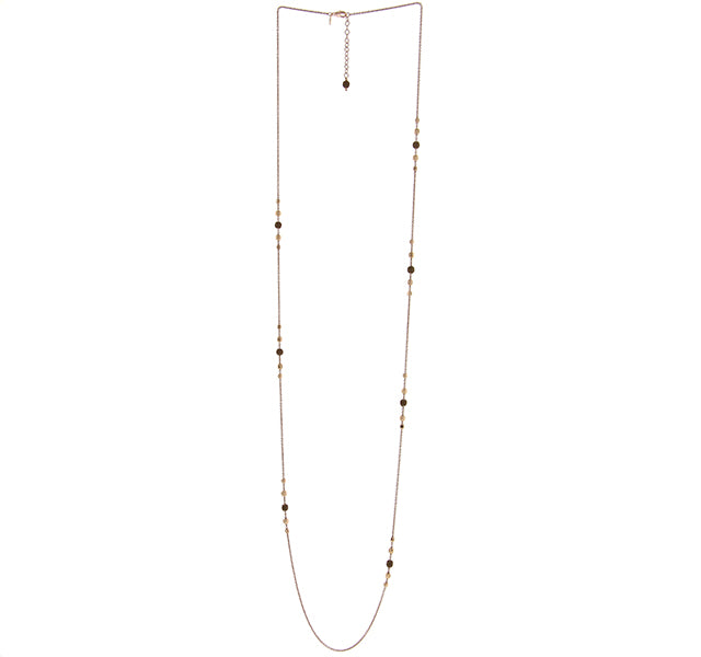 Single Strand Polvere Station Necklace