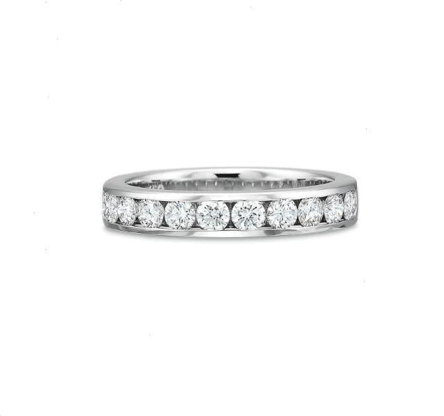 Classic Channel Set Diamond Band .75ct