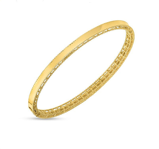 Symphony Princess Bangle in Yellow